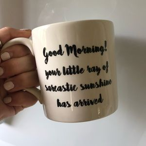 Mug w/ quote